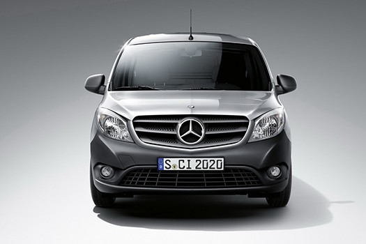 f039266231 The smallest and largest of Mercedes-Benz commercial vehicles were honoured  in this years  Trade Van Driver Awards  for Best Small Trades Van