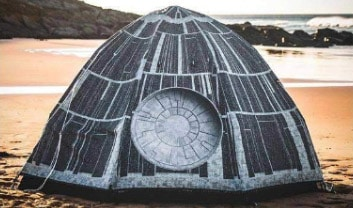 Star Wars dome tent