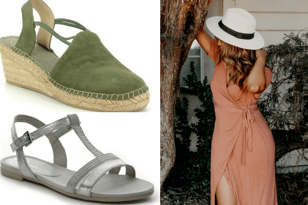 Summer shoes - wedges and flat sandals
