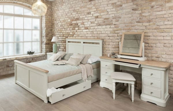 Muted tones used for a Casa furniture bedroom