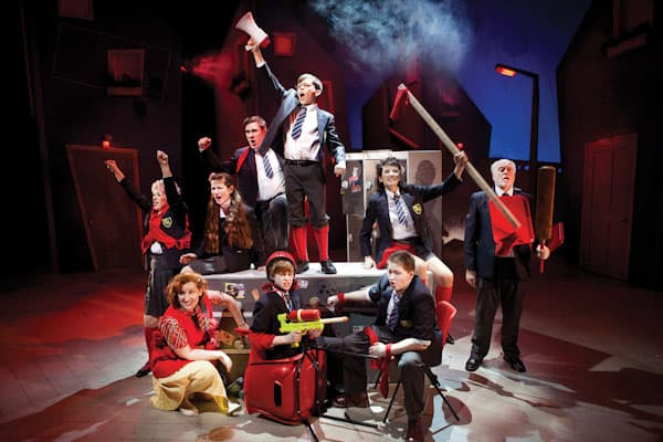 The cast of Adrian Mole musical