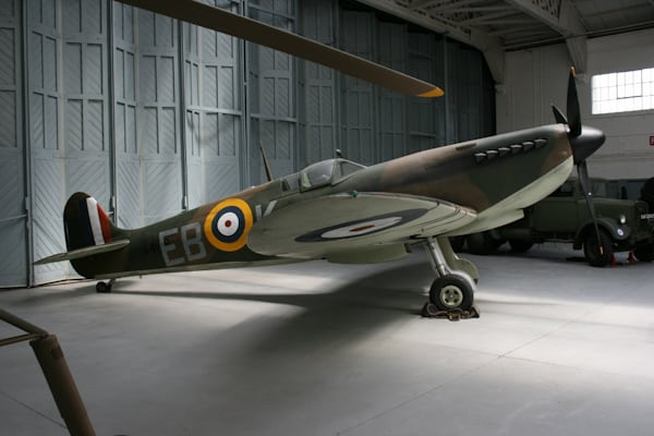 Spitfire at Imperial War Museum Duxford
