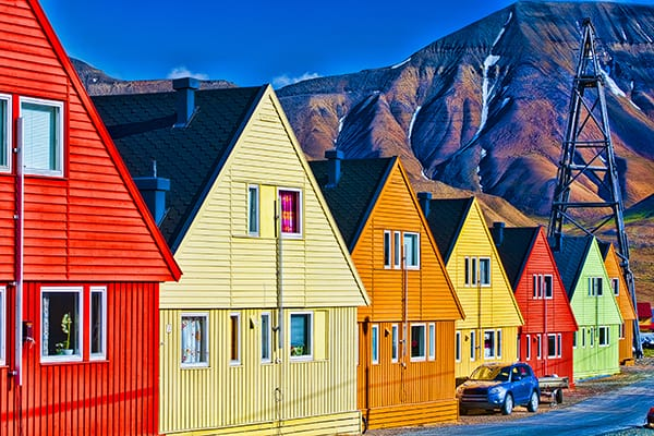 Longyearbyen in Norway