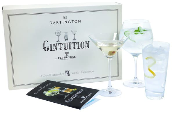 Gintuition glasses