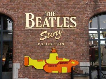 The Beatles Museum entrance